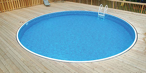 15′ Round 52″ Deep Rockwood Semi-Inground Pool