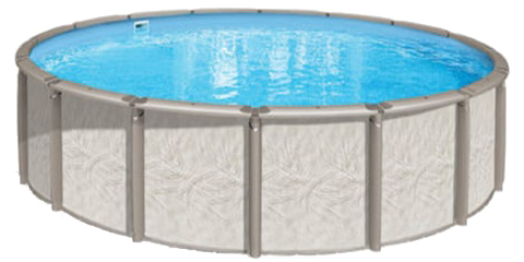 15′ Round 54″ Deep Deluxe Above Ground Pool Kit