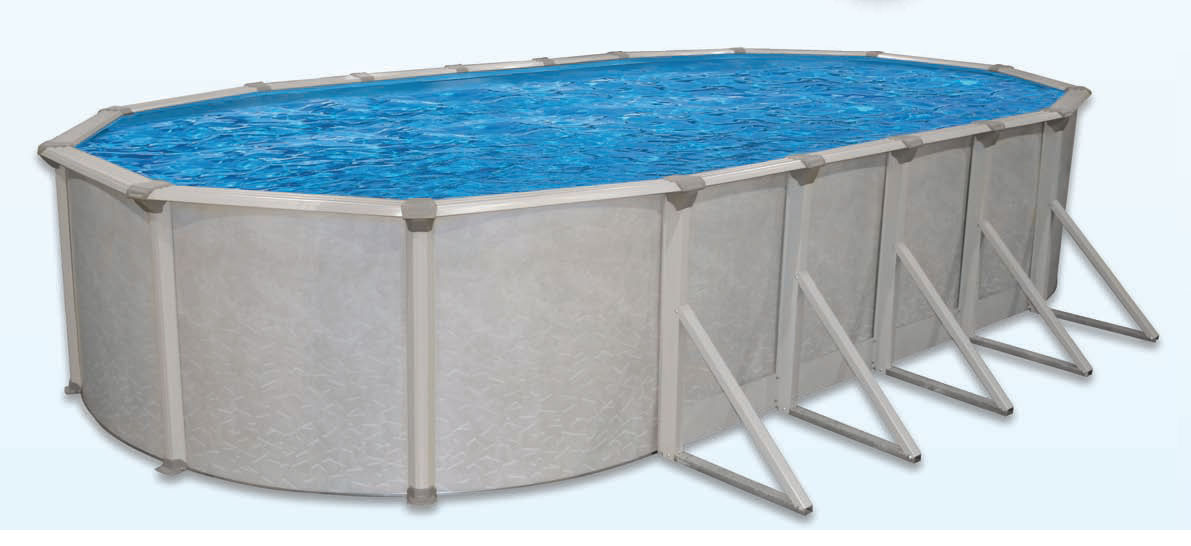18′ x 33′ Oval 52″ Deep Mt. Loch Above Ground Pool Kit