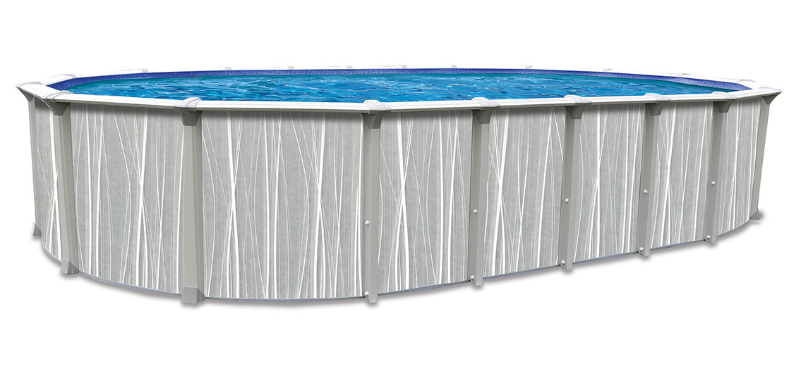 18′ x 33′ Oval 54″ Deep Dubai Above Ground Pool Kit