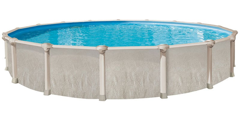 21′ Round 52″ Deep Ohana Above Ground Pool Kit
