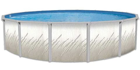 21′ Round 52″ Deep Pretium Above Ground Pool Kit