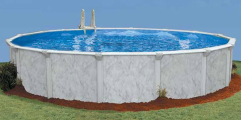 21′ Round 52″ Deep Sterling Bay Above Ground Pool Kit
