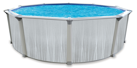 21′ Round 54″ Deep Dubai Above Ground Pool Kit