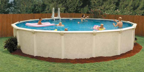 24′ Round 52″ Deep Century Above Ground Pool Kit