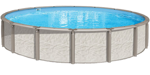 24′ Round 54″ Deep Deluxe Above Ground Pool Kit