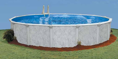 27′ Round 52″ Deep Sterling Bay Above Ground Pool Kit