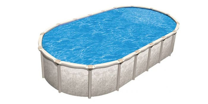 12′ x 23′ Oval 54″ Deep Magnus Above Ground Pool Kit