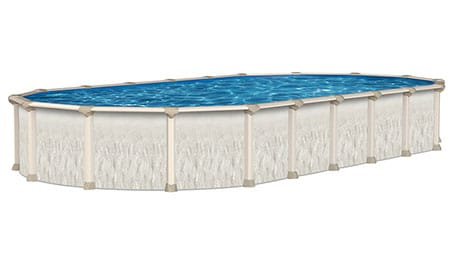 15′ x 26′ Oval 52″ Deep Ohana Above Ground Pool Kit