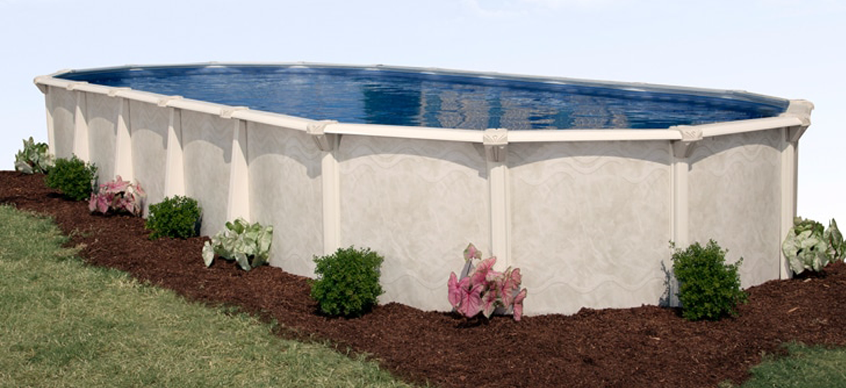 16′ x 32′ Oval 52″ Deep Century Above Ground Pool Kit