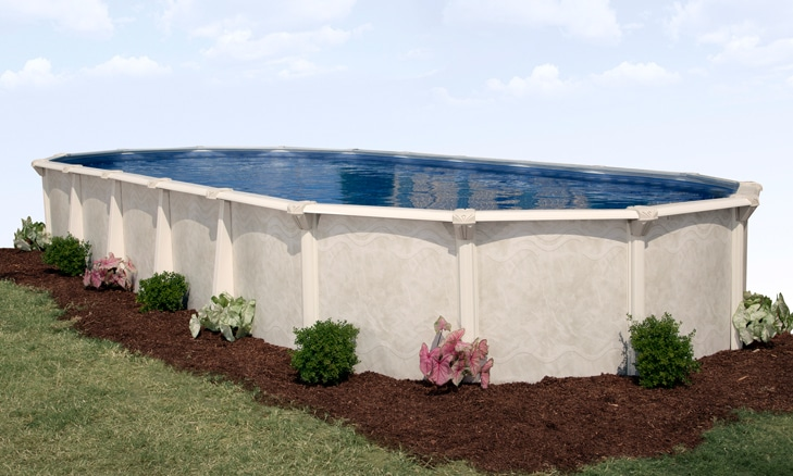 18′ x 34′ Oval 52″ Deep Century Above Ground Pool