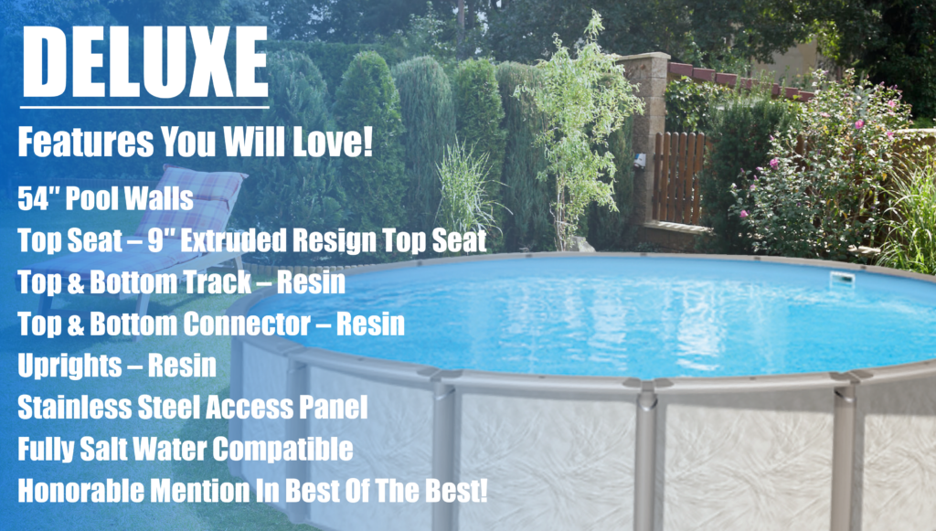 Deluxe Above Ground Pool Kits
