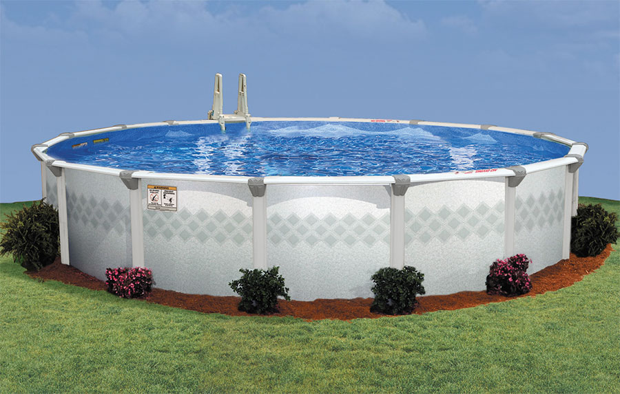 27′ Round 52″ Deep Westport Above Ground Pool Kit - Best ...